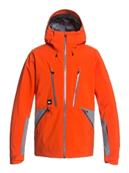 Quiksilver Stretch Fjord Jacket - Pureed Pumpkin