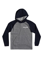 Quiksilver Kool Enough Hoody - Grey Heather