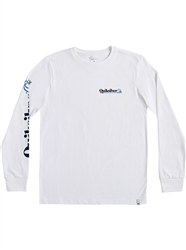 Quiksilver Check Yo Self T-Shirt - White