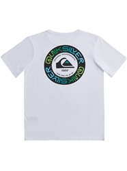 Quiksilver Time Circle T-Shirt - White