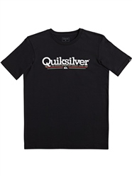 Quiksilver Tropical Lines T-Shirt - Black