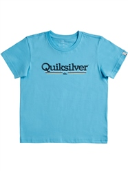 Quiksilver Tropical Lines T-Shirt - Tropical Blue
