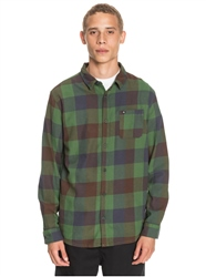 Quiksilver Motherfly Flannel Shirt - Greener Pasture