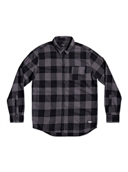 Quiksilver Motherfly Flannel Shirt - Iron Gate