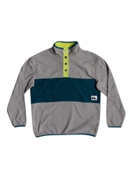 Quiksilver Iacu Polar Fleece - Blue Coral