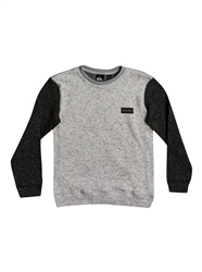 Quiksilver Keller Polar Fleece - Light Grey Heather