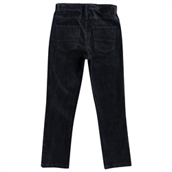 Quiksilver Kracker Corduroy Trousers - Black