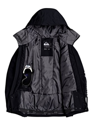 Quiksilver In The Hood Jacket - Black