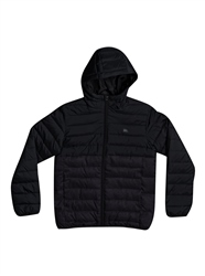 Quiksilver Scaly Puffer Jacket - Dark Grey Heather
