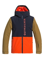 Quiksilver Side Hit Jacket - Pureed Pumpkin