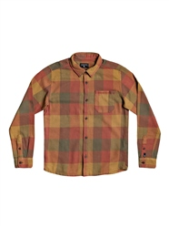 Quiksilver Motherfly Flannel Shirt - Henna