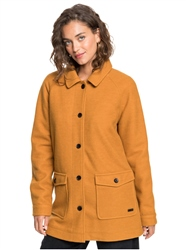 Roxy Keep Me Warm Coat - Buckthorn Brown