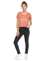 Roxy Call It Dreaming T-Shirt - Auburn