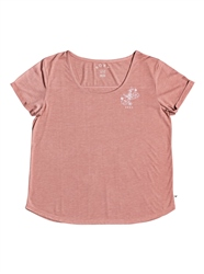 Roxy Cocktail Hour T-Shirt - Ash Rose