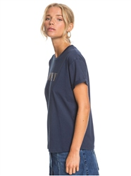 Roxy Epic Afternoon T-Shirt - Mood Indigo
