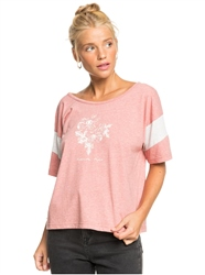 Roxy Girls Don't Mind T-Shirt - Ash Rose