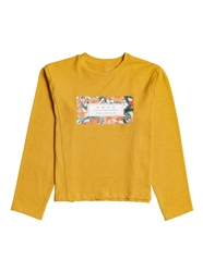 Roxy About Yesterday A T-Shirt - Mineral Yellow
