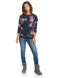 Roxy Enchanted Isle Sweatshirt - Mood Indigo Vertigo