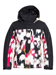 Roxy Galaxy Jacket - Ture Black Inkstain