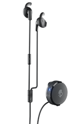 Skullcandy Vert Clip Anywhere Wireless Earbuds - Fearless Black