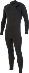 Alder Evo Fire 5/4mm Chest Zip Wetsuit (2020) - Black