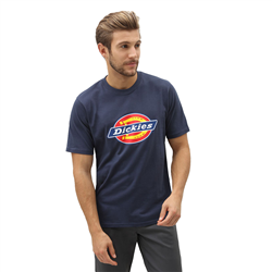Dickies Horseshoe T-Shirt - Navy Blue