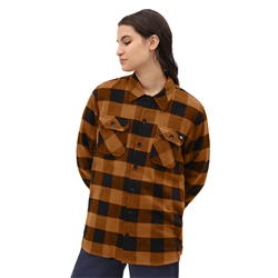 Dickies Sacramento Relaxed Shirt - Brown Duck