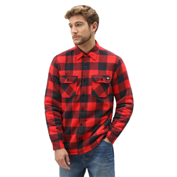 Dickies Sacramento Relaxed Shirt - Red