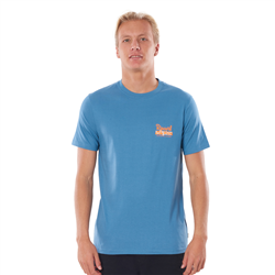 Rip Curl Salt Water Culture Strip T-Shirt - Dusty Blue