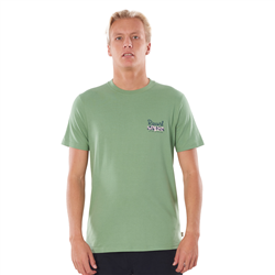 Rip Curl Salt Water Culture Strip T-Shirt - Frost