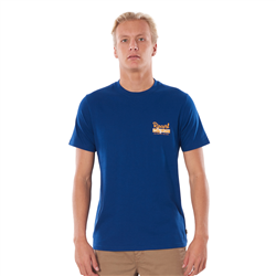 Rip Curl Salt Water Culture Strip T-Shirt - Royal Blue