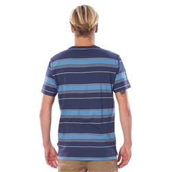 Rip Curl Searchers Nomad T-Shirt - Indigo Blue
