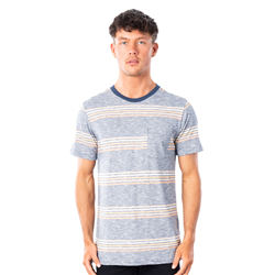 Rip Curl Surf Revival Stripe T-Shirt - Navy