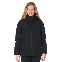 Rip Curl Anti-Series Search Puffer Jacket - Black