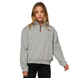Rip Curl Manitoba Fleece - Cement Marle