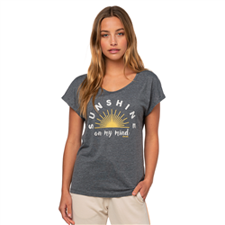 Rip Curl Sunshine T-Shirt - Dark Grey