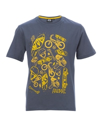 Animal Skate T-Shirt - Ombre Blue