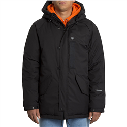 Volcom Interzone Parka Jacket - Black