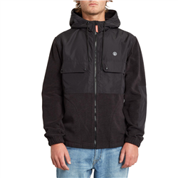 Volcom Yzzolate Lined Zip Jacket - Black