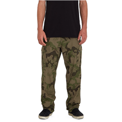 Volcom Miter II Cargo Trousers - Rifle Green