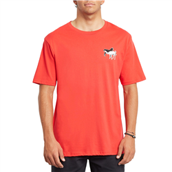 Volcom Scentsative T-Shirt - Fiery Red