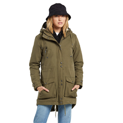 Volcom Walk On By 5K Jacket - Olive