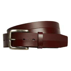 Volcom Bistone Leather Belt - Brown