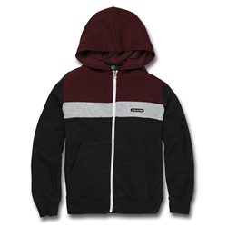 Volcom Single Stone Division Zip Hoody - Port