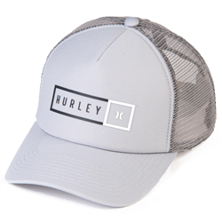 Hurley Industrial Trucker Cap - Cool Grey & Black