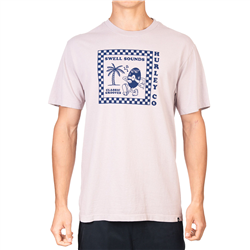Hurley Boxy Swell Sounds T-Shirt - Platinum Violet