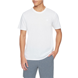 Hurley Dri-Fit Staple Icon Reflective Icon T-Shirt - White