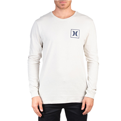 Hurley One & Only Icon T-Shirt - Light Bone