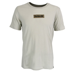 Hurley One & Only Small Box T-Shirt - Bone