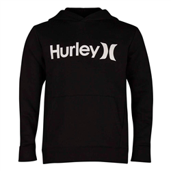 Hurley One & Only Surf Check Hoody - Black